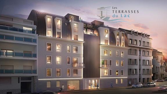 Vue rue Louis Blanc vichy vente appartement neuf bp transaction